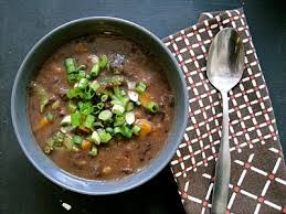 Warming Black Bean & Azuki Vegetable Stew Recipe