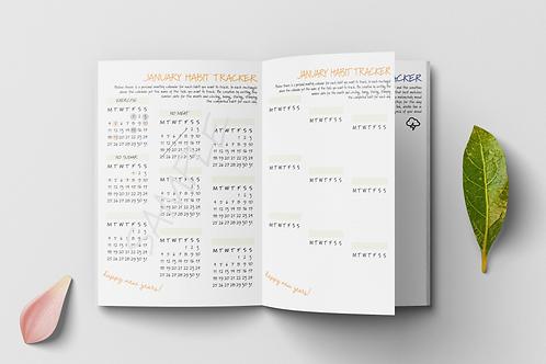 Undated Yearly Habit Tracker