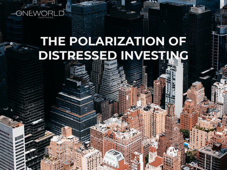 The Polarization of Distressed Investing