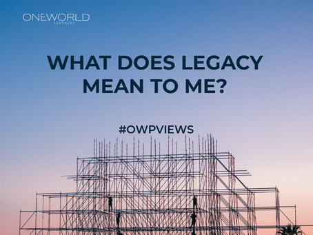 What does Legacy mean to me?