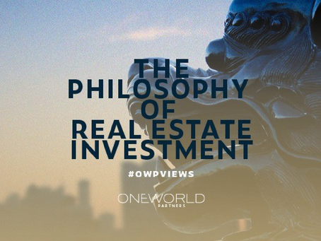 The Philosophy of Real Estate Investment