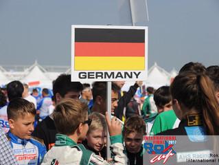 Gute Ergebnisse für die deutschen Fahrer - Lipinski erreicht Rok Cup International Finale
