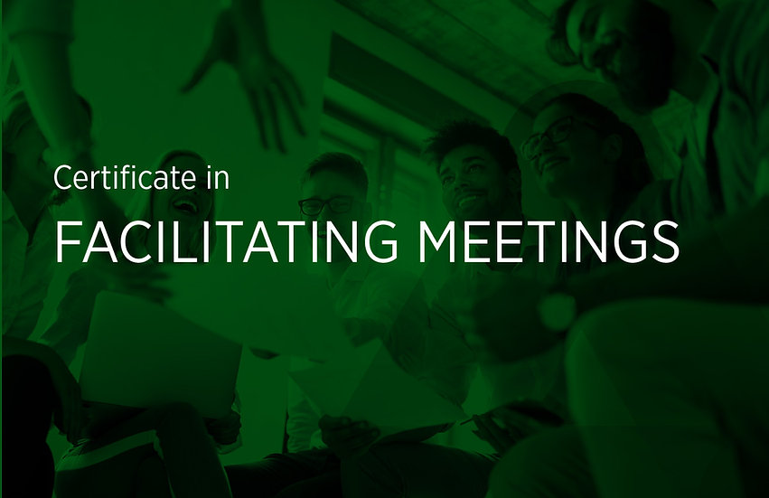 Facilitating Meetings