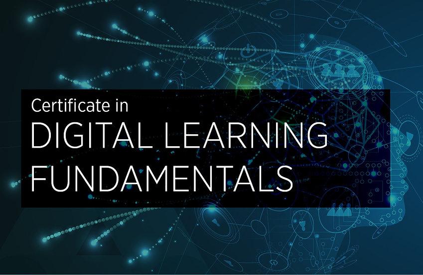 Digital Learning Fundamentals