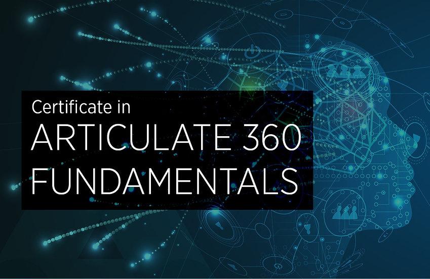 Articulate 360 Fundamentals