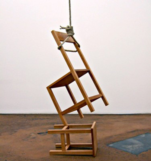 Philippe Ramette _ The Suicide of Object