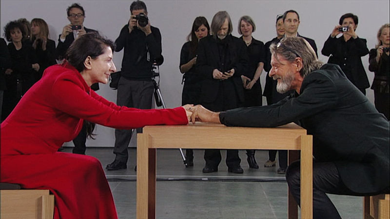 Marina Abramovic _ The Artist is Present
