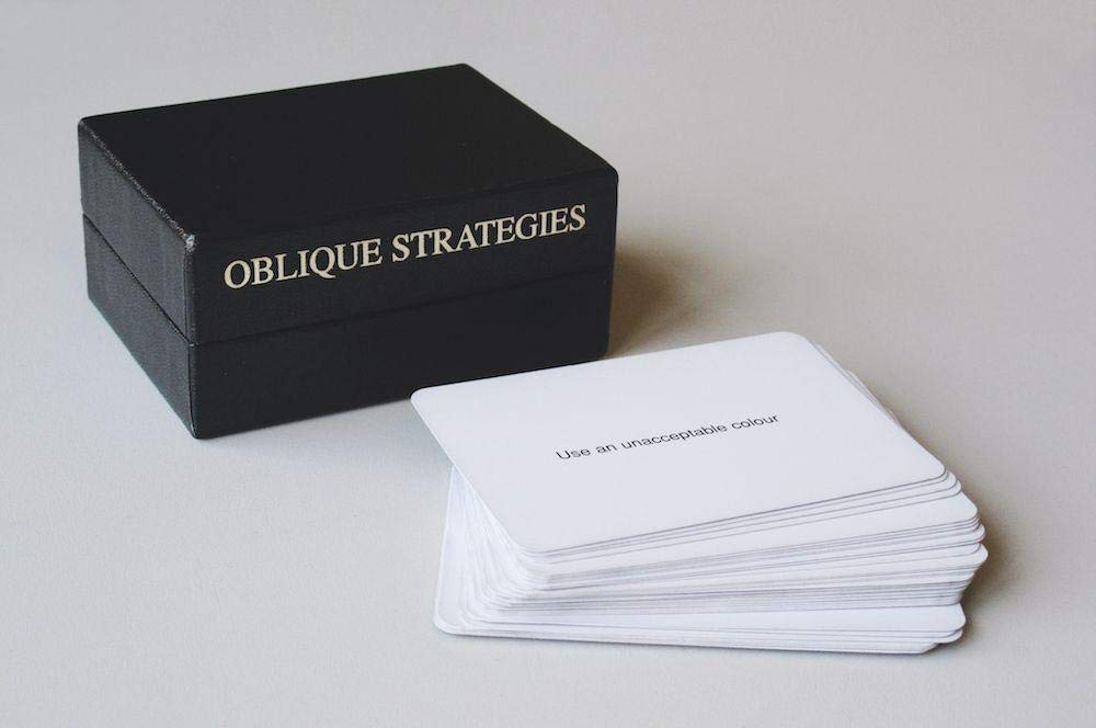 Eno Schmidt _ Oblique Strategies