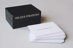 Eno Schmidt _ Oblique Strategies