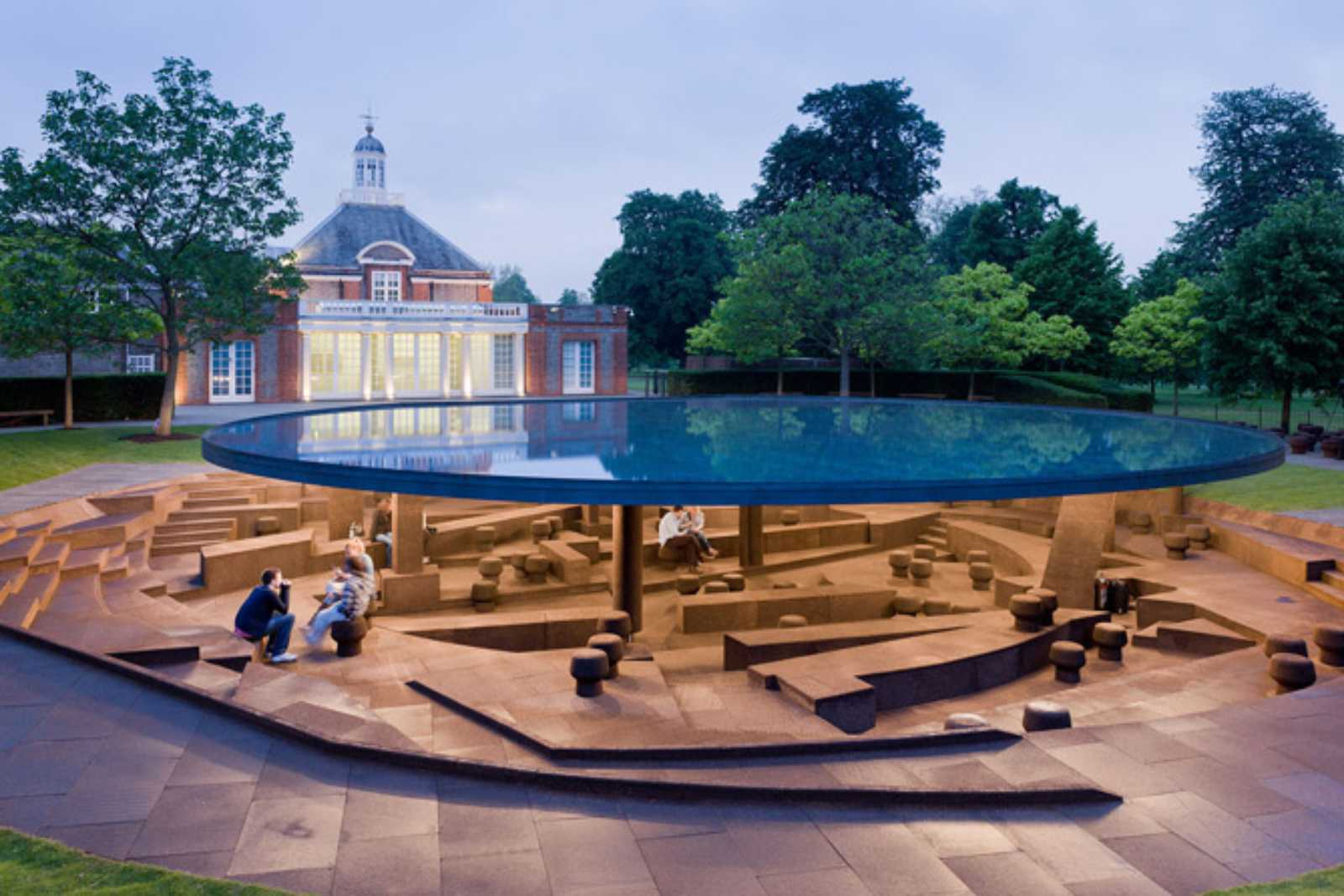 Serpentine Gallery Pavilion 2012 by Herz
