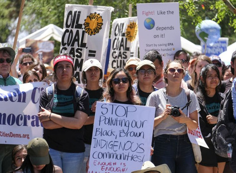 Green New Deal enlists people of color