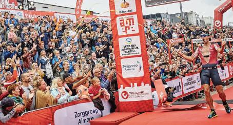 Sigue a los mejores triatletas en el Challenge Miami 2021