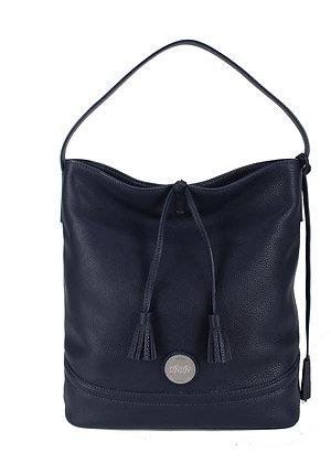 Tassel  Shoulder Bag (Ink Blue) A10290-2