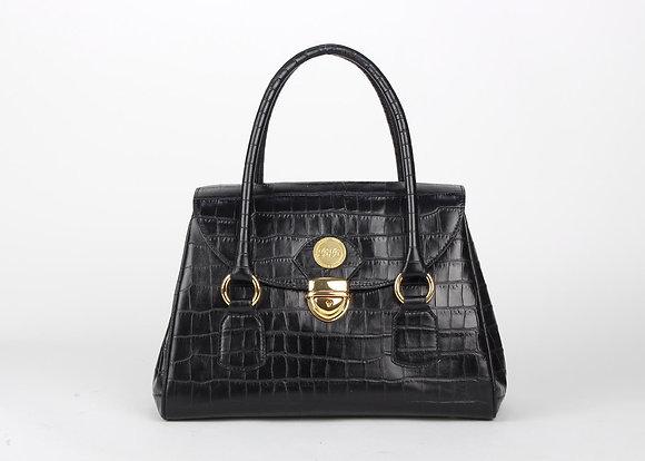 Top Flap Shoulder Bag (Onxy Black) A10208