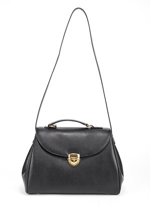Flap shoulder Bag (Black) A10244