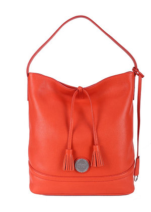 Tassel  Shoulder Bag (Papaya Red) A10290-2