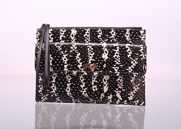 Holiday Wristlet (Black/White) A10597