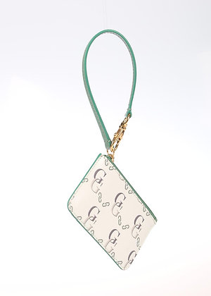 Signature Wristlet Card Case (Celedon)  W6780