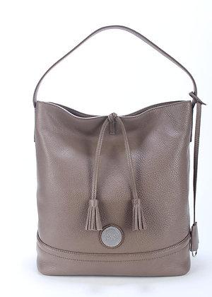 Tassel  Shoulder Bag (Taupe) A10290-2