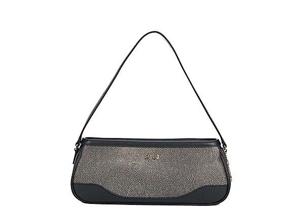 Shoulder Bag (Black/Gold) A10421