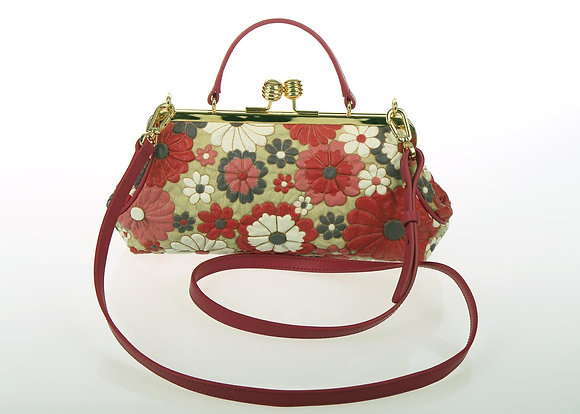 Metal Frame handbag A10563 (Lollipop)