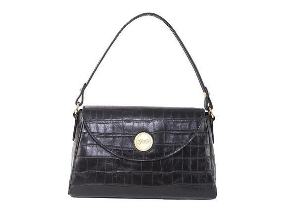 Small Flap Shoulder Bag (Onxy Black) A10210