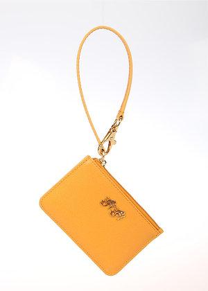 Wristlet Card Case Coin Purse (Mango) W6779
