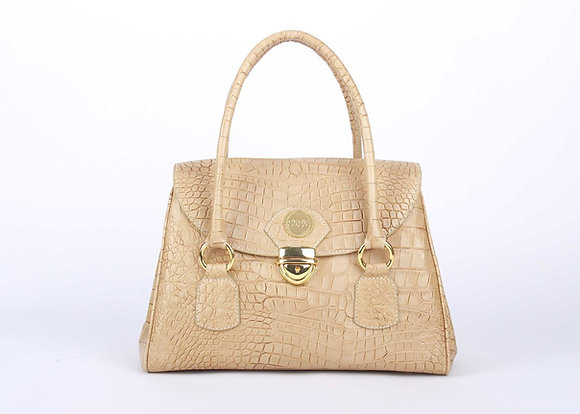 Top Flap Shoulder Bag (Dessert Brown) A10208