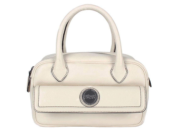 Mini Satchel A10336 (Cotton White)