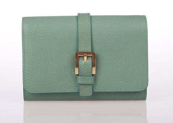 Medium Foldover Cardcase (Celedon) W6773