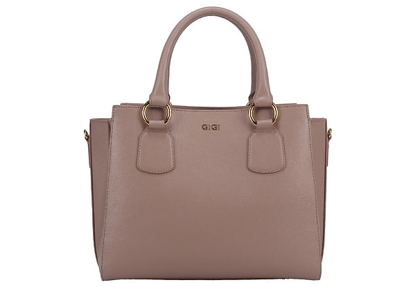 Centre Zip Satchel (Lilac)  A10254