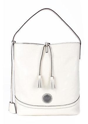 Tassel  Shoulder Bag (Cotton White) A10290-2