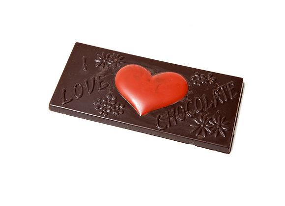 """Šokolado plytelė """"I love chocolate"""""""