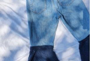 Pantalón de Mezclilla  - por Aranza García