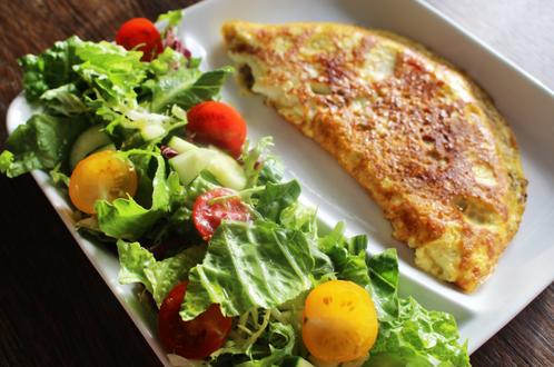 Enkel omelett