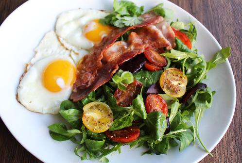 Speilegg & bacon