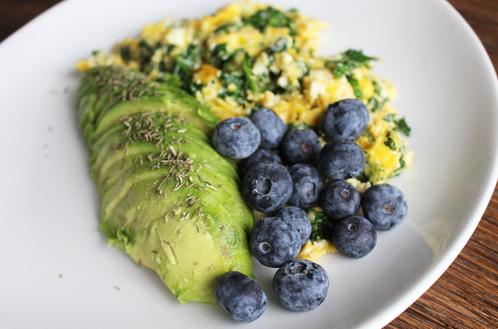 Frokosttallerken med egg & avocado