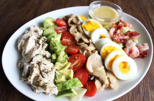 Linneas Cobb salad