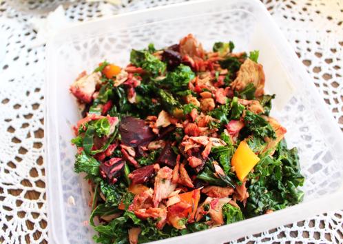 Lunsjboks med tunfisk & grønnkål