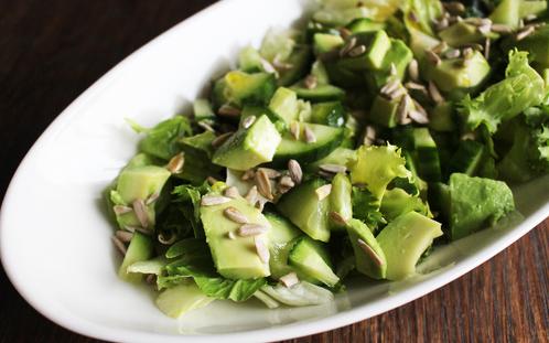 Grønn antioksidantsalat