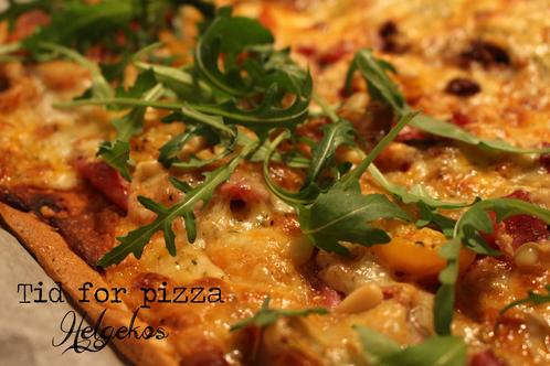 Linneas italienske pizzabunn