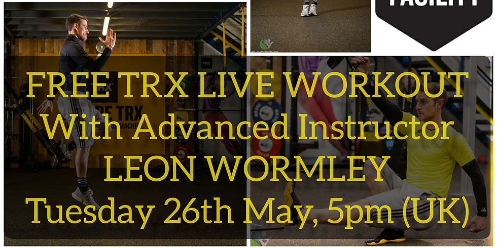 FREE LIVE TRX WORKOUT!