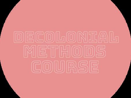 Decolonial Methods in TPC: FULL Undergrad Course