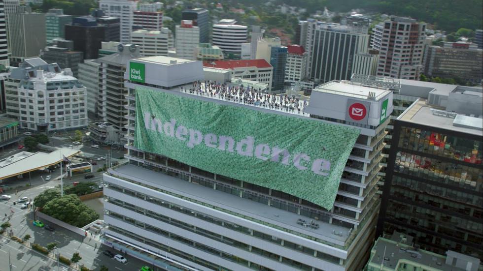 Kiwibank – Independence