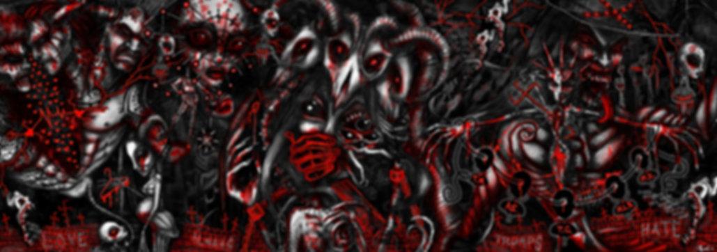 muricax, art protest, gary adrian randall, political art, digital art, escape from clowntown