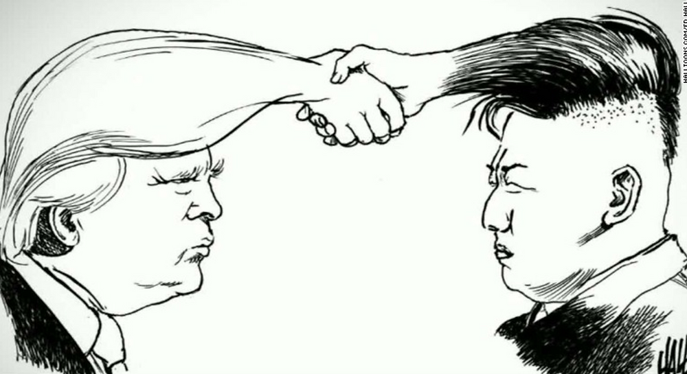North korea and donald trump