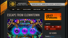 IGF: Escape from Clowntown Enters Independent Games Festival