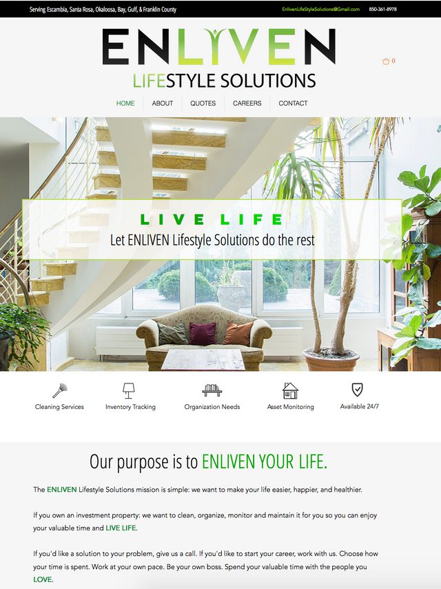 ENLIVEN LIFESTYLE SOLUTIONS