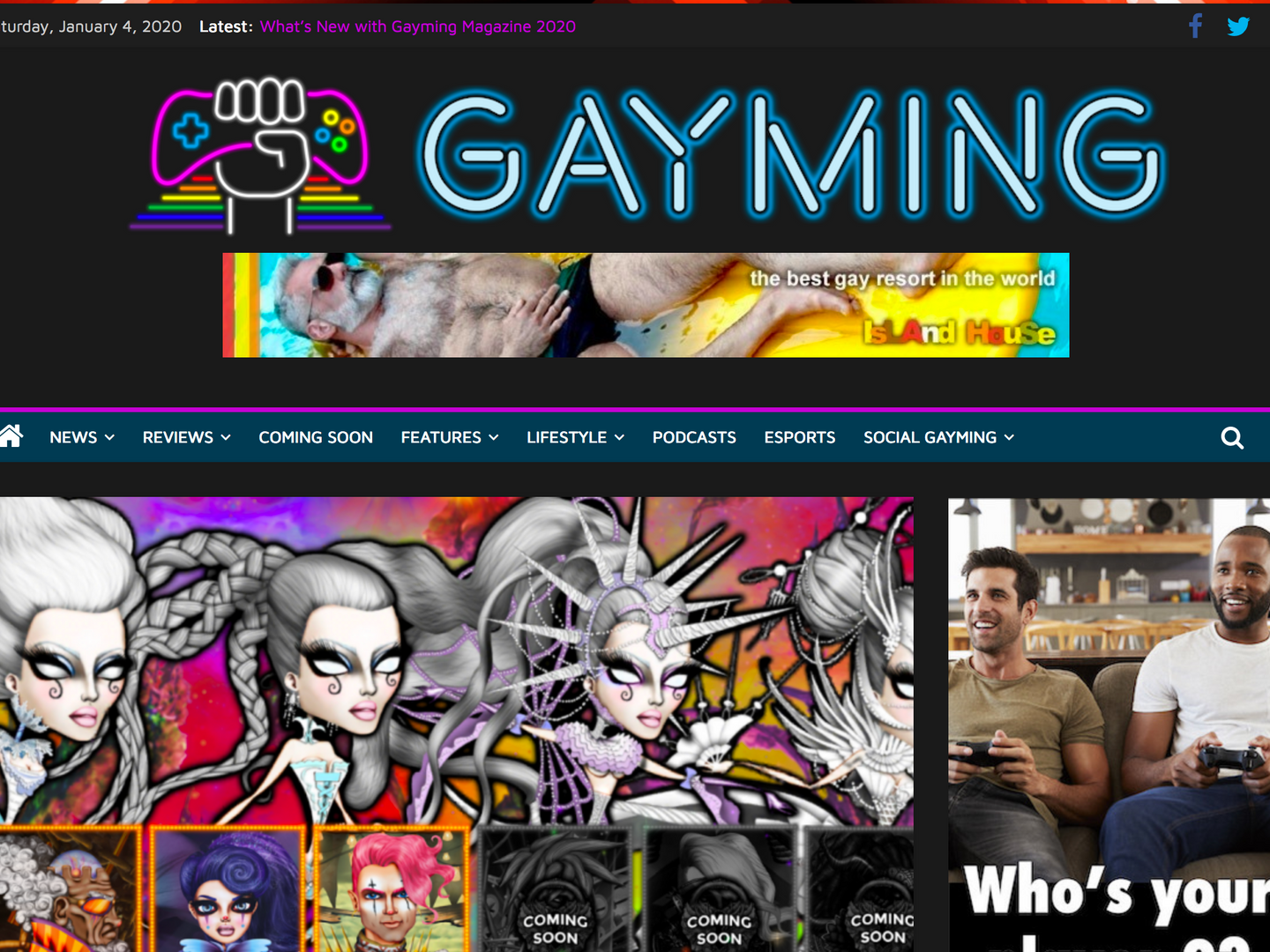 Gayming Mag Review