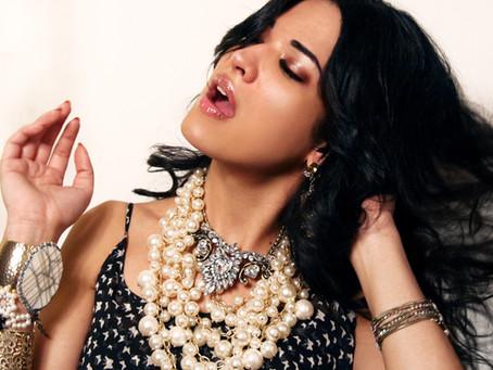 Monique Leshman Accessories: Photoshoot with Nadia Evangelina